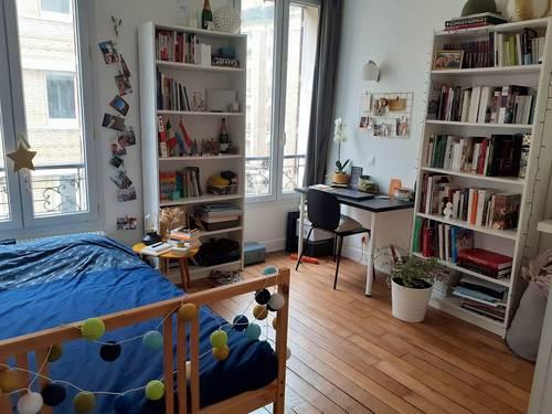 Loue grande chambre dans colocation / mois de juin - Asnières-sur-Seine (92)
