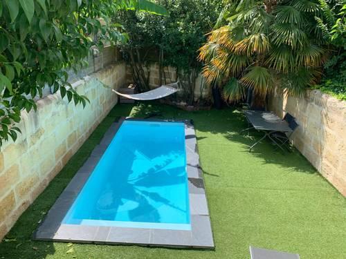 Loue Grande maison bordelaise avec piscine - 4chambres