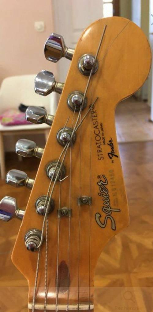 Guitare Fender Strato Caster vintage