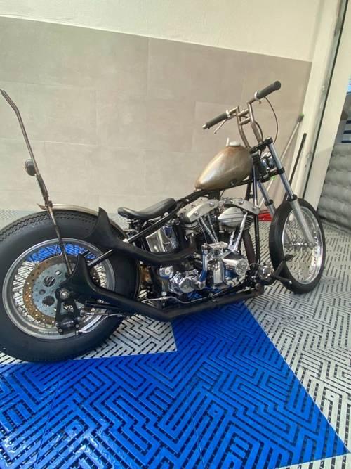 Harley shovel - 4000km - 1972