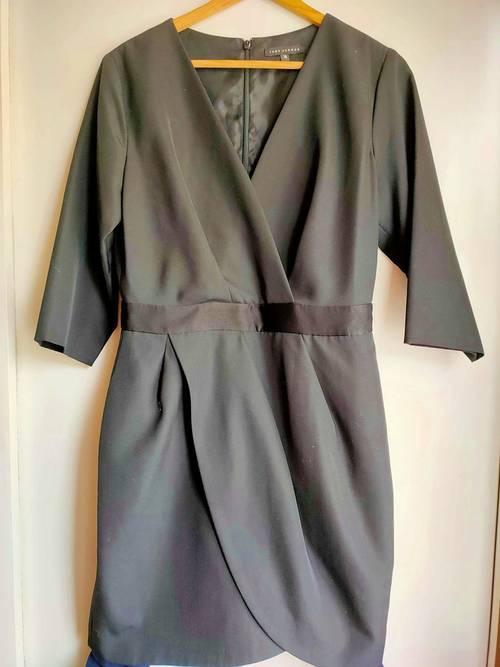 Robe Tara Jarmon NOIRE - taille 38