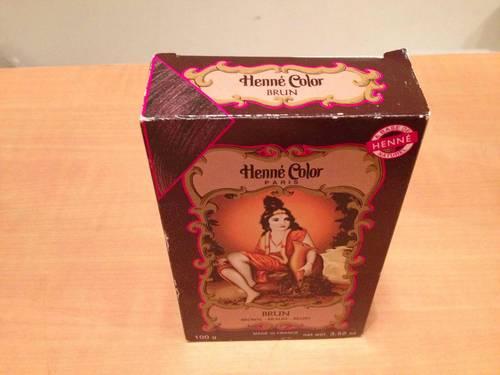 Henné Color - Poudre Colorante naturelle Brun - 100g