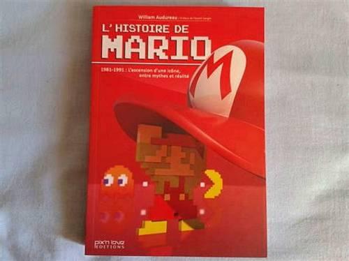 "Livre ""l'histoire de Mario"""