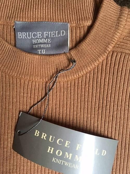 Pull homme Bruce Field, beige neuf TU