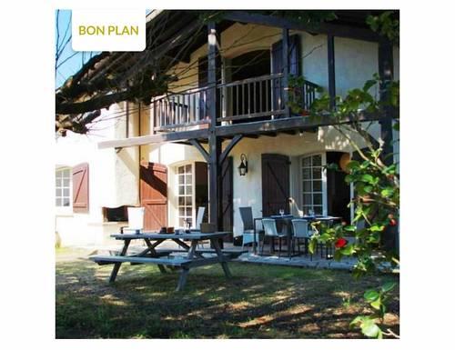 Loue Maison à Hossegor (40) proche centre lac à pied - 8couchages