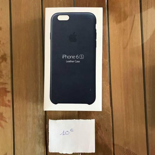Housse iPhone 6s Cuir Noir