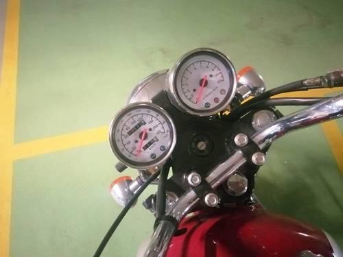 Vends moto Mash five hundred 400cc, 3500km · 2016