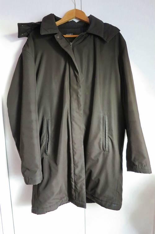 Imperméable manteau noir doublé T 52Melchior