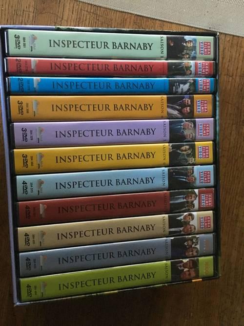 Dvd inspecteur Barnaby (intégrale 11saisons)