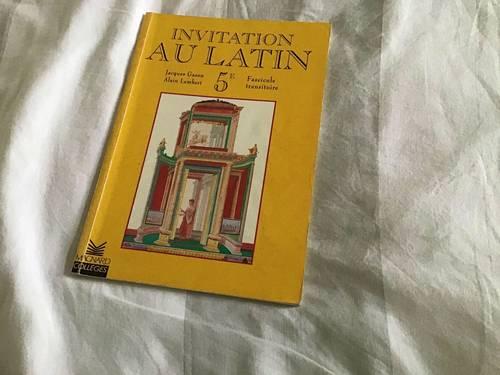 Invitation au latin 5e Magnard