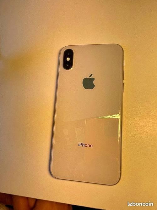 Iphone X blanc 256Go