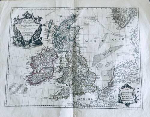 Les Isles Britanniques qui comprennent … Delisle