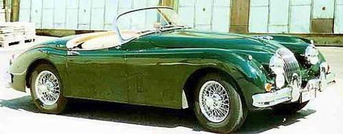 Jaguar XK 150version S - 1959