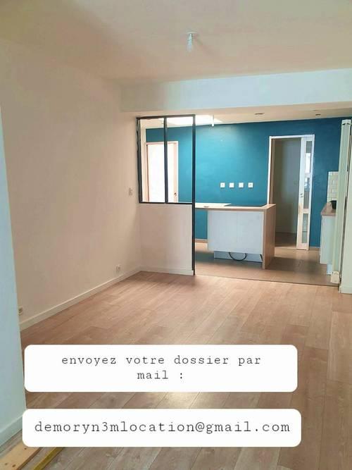 Loue appartement T3en rez-de-chaussée avec jardin - 100m² quartier proche de commerces et bus - Lys-lez-Lannoy (59)