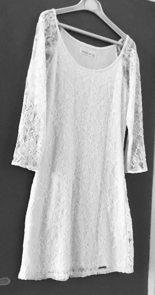 Jolie robe blanche Abercrombie - neuve taille M
