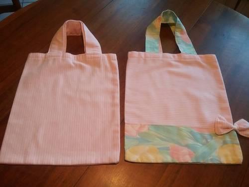 Jolis sacs en tissu à offrir