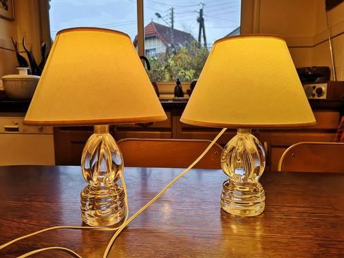 2lampes de chevet