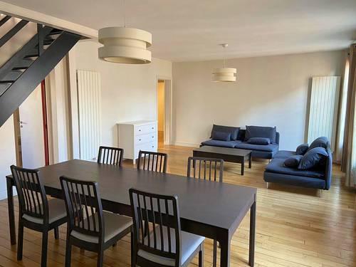 Loue duplex familial meublé 115m², 3grandes chambres - Levallois (92)