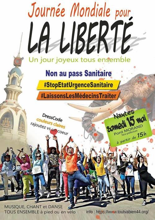 Fête de la Liberté - Joie et Bonne Humeur 15mai 2021