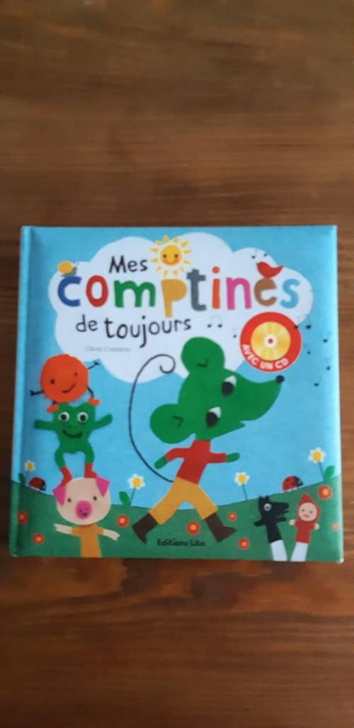 """Livre album cd """"Mes comptines de toujours"""" neuf"""