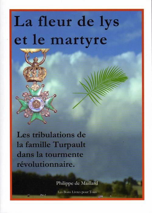 """Livre """"La fleur de lys et le martyre"""" édité en 2018"""