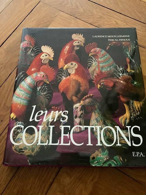 """Livre """"Leurs collections"""""""