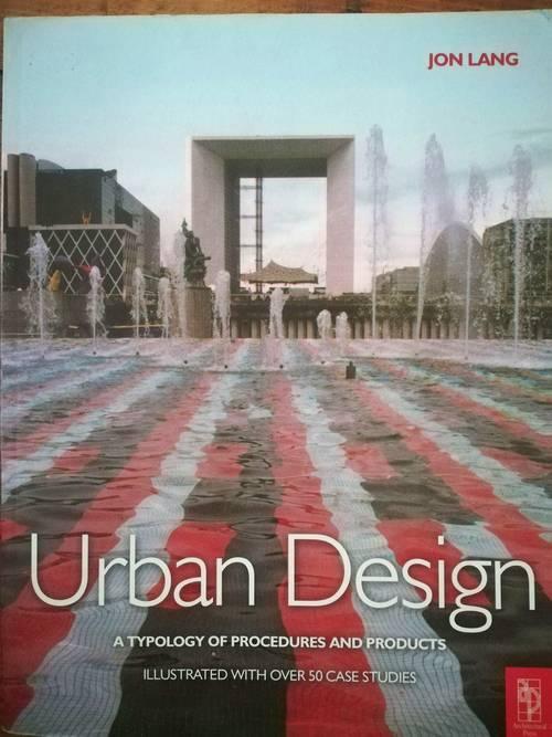 Livre urbanisme architecture URBAN DESIGN de John Lang