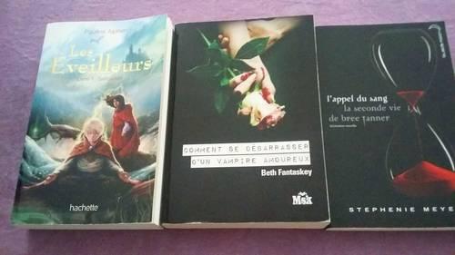 Vends livres ados bon état