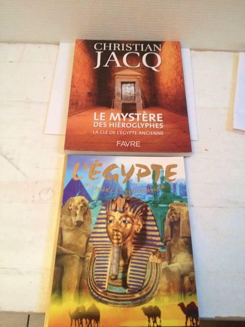 2livres pour découvrir l'EGYPTE