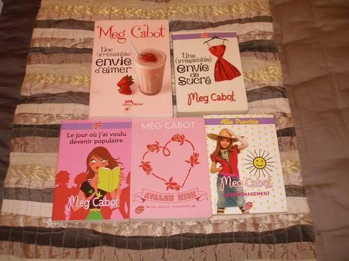 5livres divers de Meg CABOT