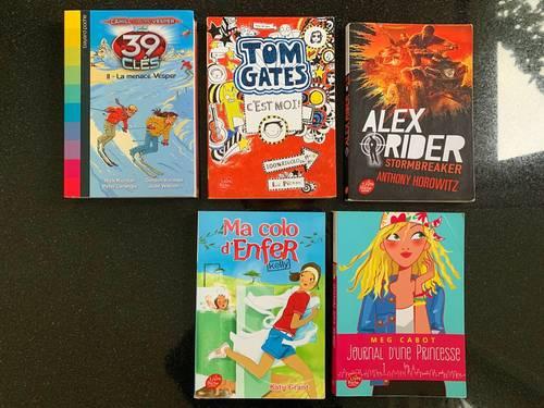 Livres enfants/ados (10-12ans)
