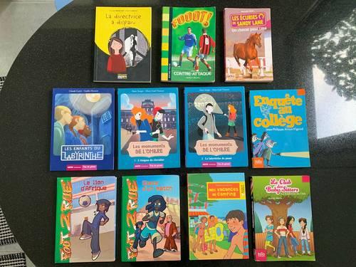 Livres enfants - fin de primaire (9ans)