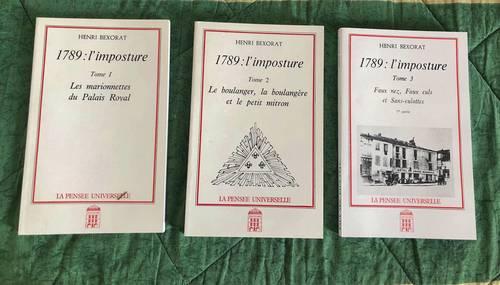 Livres neufs sur la Révolution Française. 1789: l'imposture