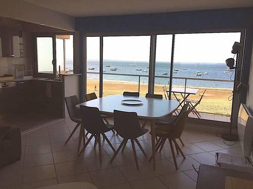 Loue appartement avec vue sur le Bassin d'Arcachon - 2chambres, 5couchages, Arcachon (33)