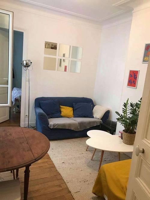 Propose sous-location appartement Batignolles - 2chambres, 40m², Paris 17ème