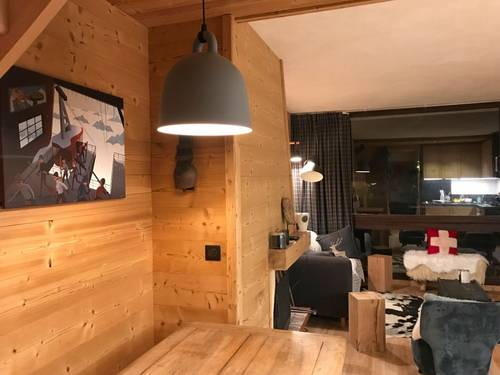 Propose Appartement de charme PEISEY VALLANDRY 8couchages