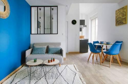 Location appartement meublé 29m² + mezzanine et parking
