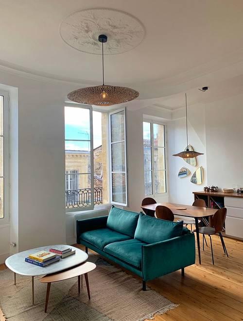 Loue appartement triangle d'or - 2chambres, 63m², Bordeaux (33)