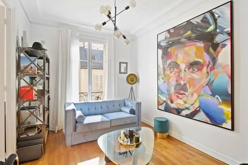 Loue Appartement Paris 17ème 4couchages - Arc de Triomphe