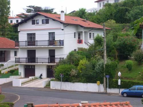 Saint-Jean de Luz (64) - Loue appartement duplex dans villa, 10couchages