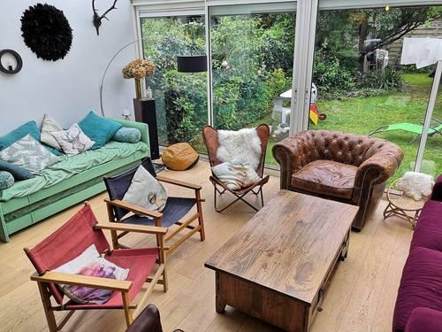 Loue Maison avec jardin à Rennes - Parc Oberthur (35) 8couchages