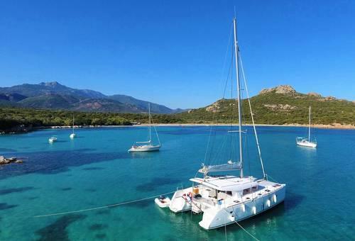 Location Lagoon 400Corse du Sud-Sardaigne - Bonifacio (20) - 8couchages
