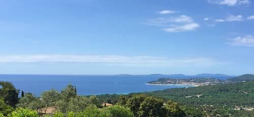 Location maison LA CROIX VALMER/Golfe de St Tropez - 8pers - Vue mer