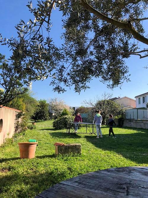 Location maison 12couchages grand jardin à 10' du Port de La Rochelle