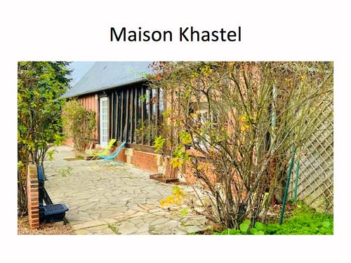 Loue maison «Khastel» 4chambres, 8couchages à 1h15de Paris Ouest -Graveron-Sémerville (27)