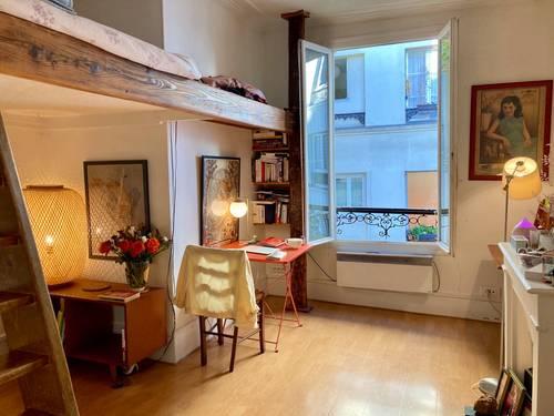 Loue ravissant studio meublé au pied de Montmartre - 15m², 18ème