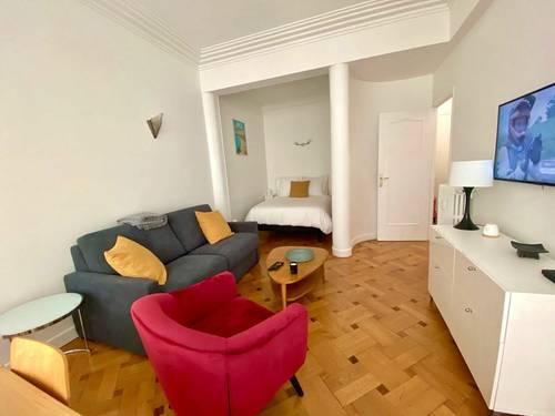 Propose Bail étudiant Nice (06). Charmant appartement meublé à Nice Carré d'Or - 1chambre