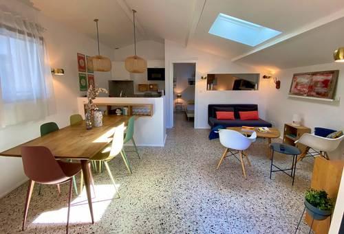 Loue maison à quelques pas de la plage des Estagnots - 1chambre - Seignosse (40)