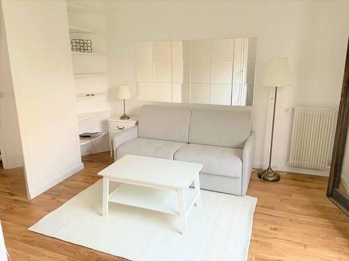 Loue studio 25m² Paris 19ème