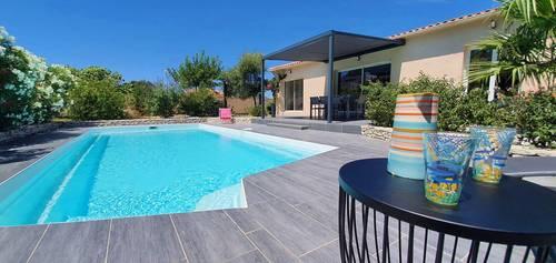 Location villa Benista Bonifacio, 4chambres, 9couchages